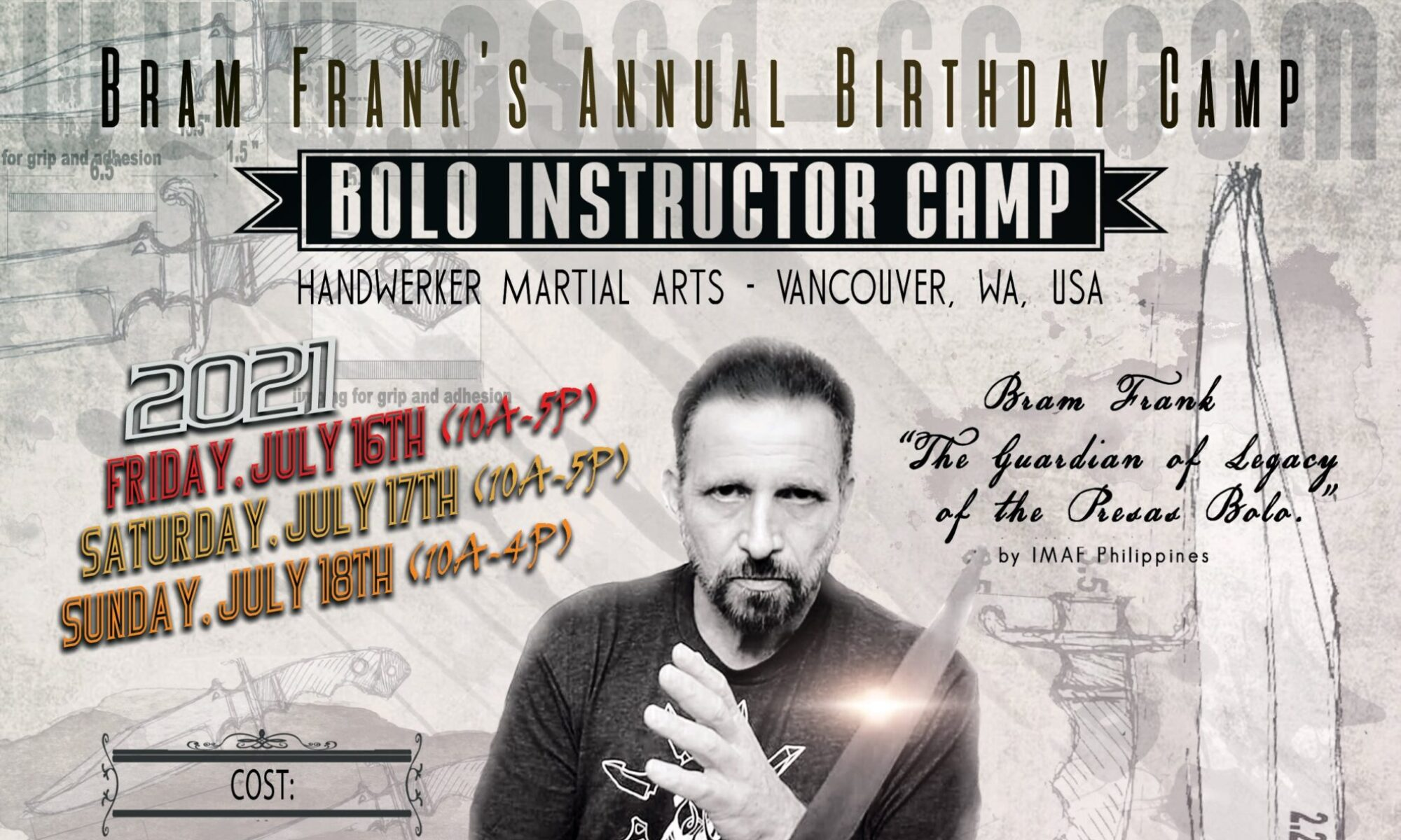 Bram Frank Annual Birthday Training Camp